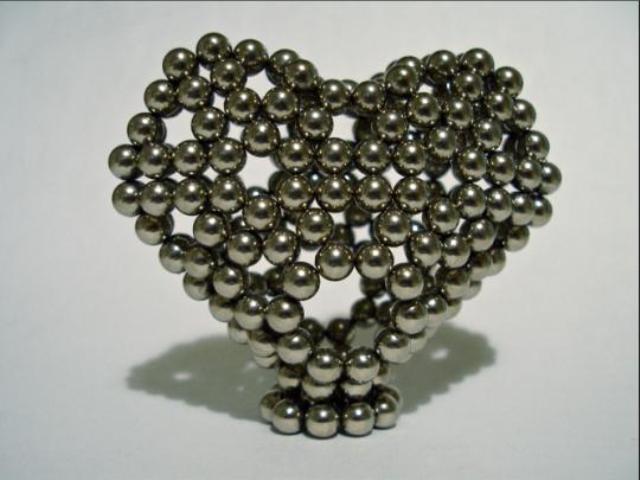 Сердце - фигурка из неокуба